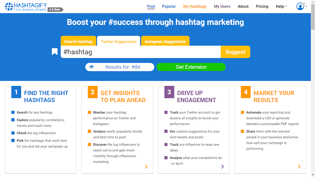 use hastagify for topics trends on twitter