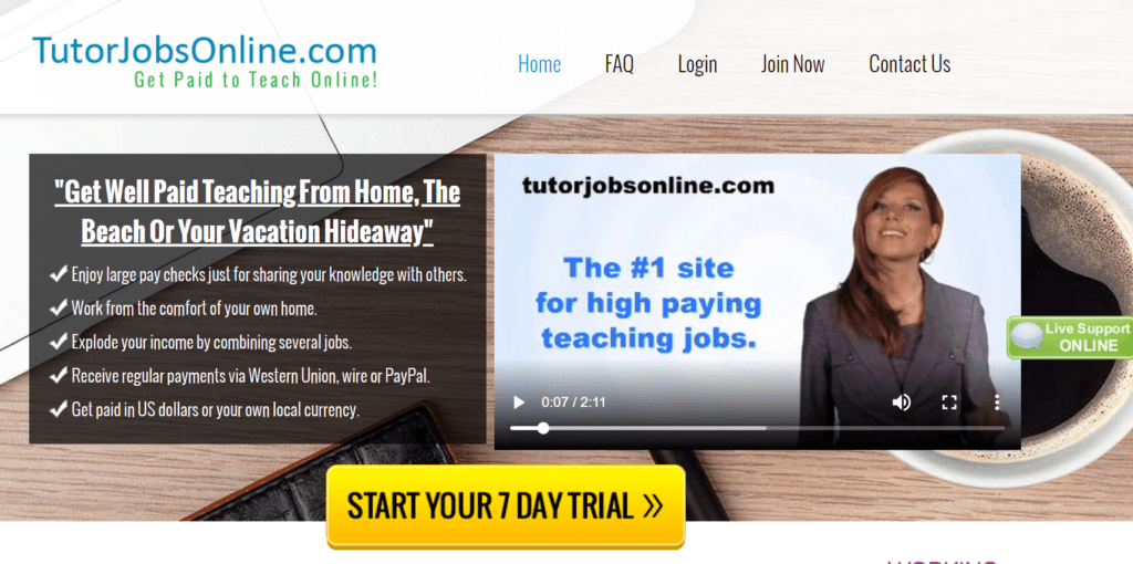 apply for online tutoring jobs