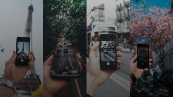 smartphone and mobile photography tricks for instagram