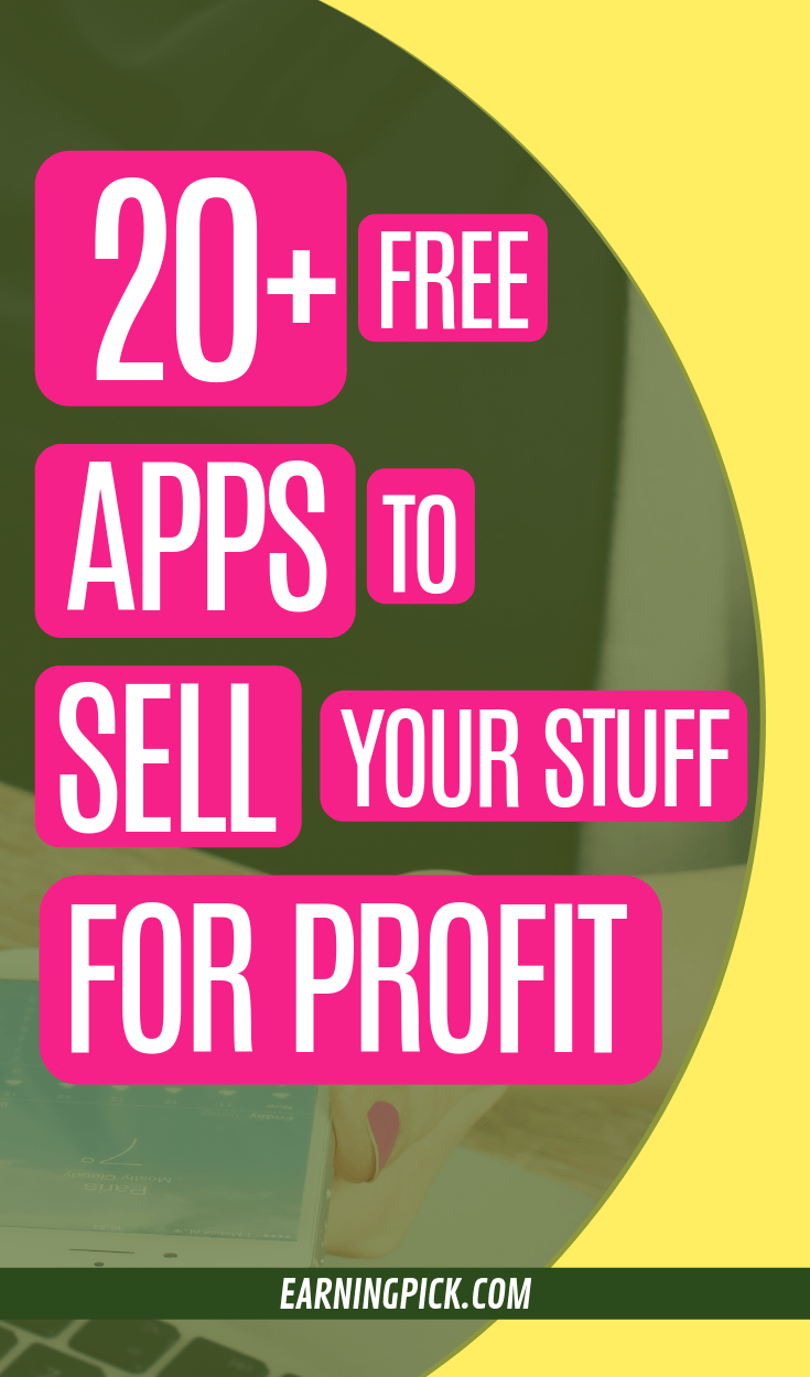 best buying and selling apps to sell stuff onilne