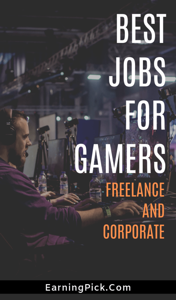jobs for video gamers